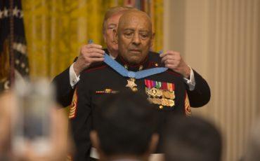 Marine Corps Medal Of Honor SgtMaj Canley